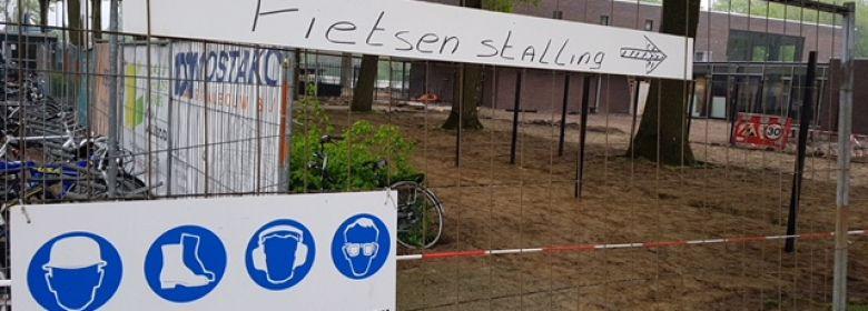Nieuwe plek fietsenstalling