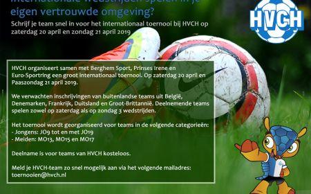 Internationale wedstrijden spelen in je eigen vertrouwde omgeving?