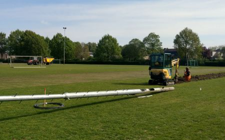 onderhoud trainingsvelden