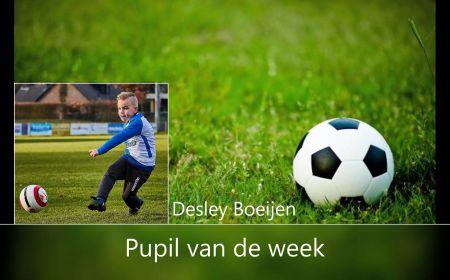 Pupil van de week Desley Boeijen