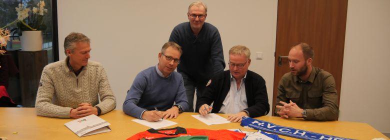 HVCH en N.E.C. tekenen partnercontract