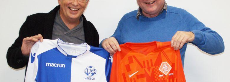 Shirtje ruilen voor 130 jaar voetbal