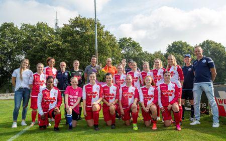 Wetering sponsor Vrouwen- en meidenvoetbal HVCH